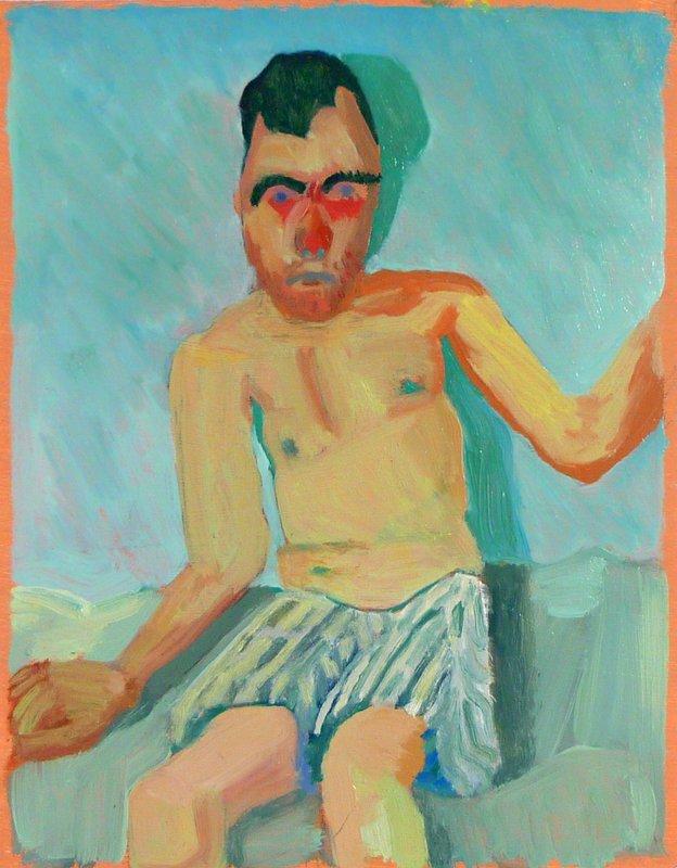 Self-Portrait <span>Copyright Julie Held</span>