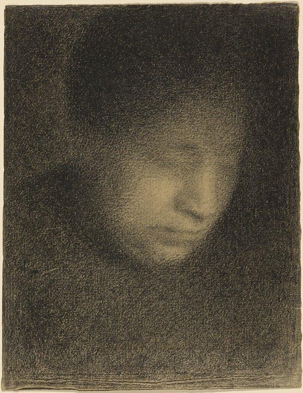 Drawing Self-Portraits - Seurat