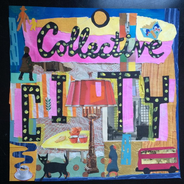 Collective City, book cover for Poetry International book project at the Southbank Centre<span>Copyright Sophie Herxheimer</span>