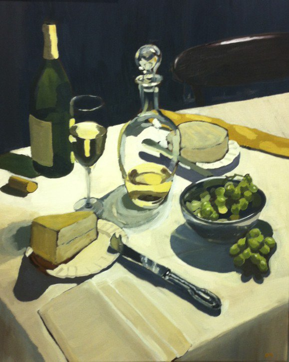 Still Life With Camembert and Morbier<span>Copyright Charlie Masson</span>