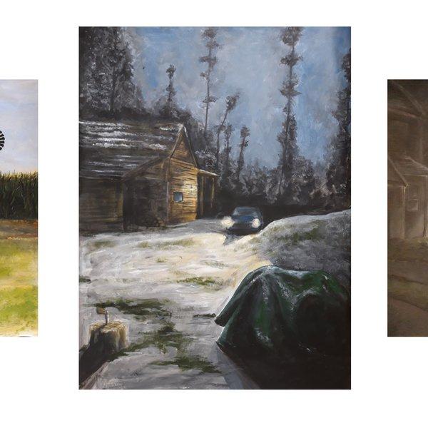 American Roadtrip (Triptych)