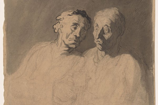 Two Drinkers - The Claude Glass
