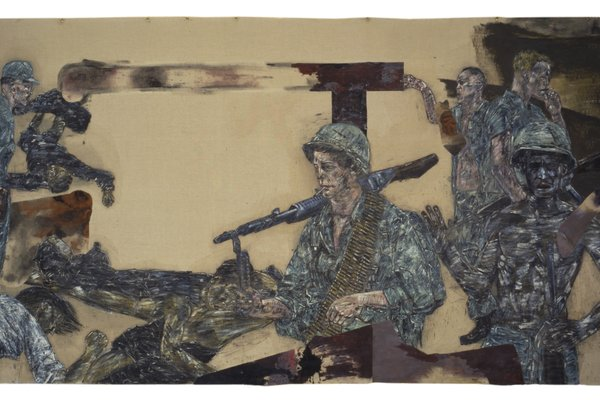 Jon Bird and Timothy Hyman in conversation about the art of Leon Golub
