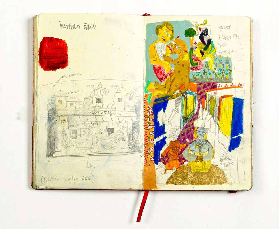 Untitled (China Sketchbook)<span>Copyright Rosie Vohra</span>