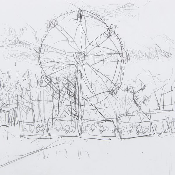 Ferris Wheel in Battersea Park