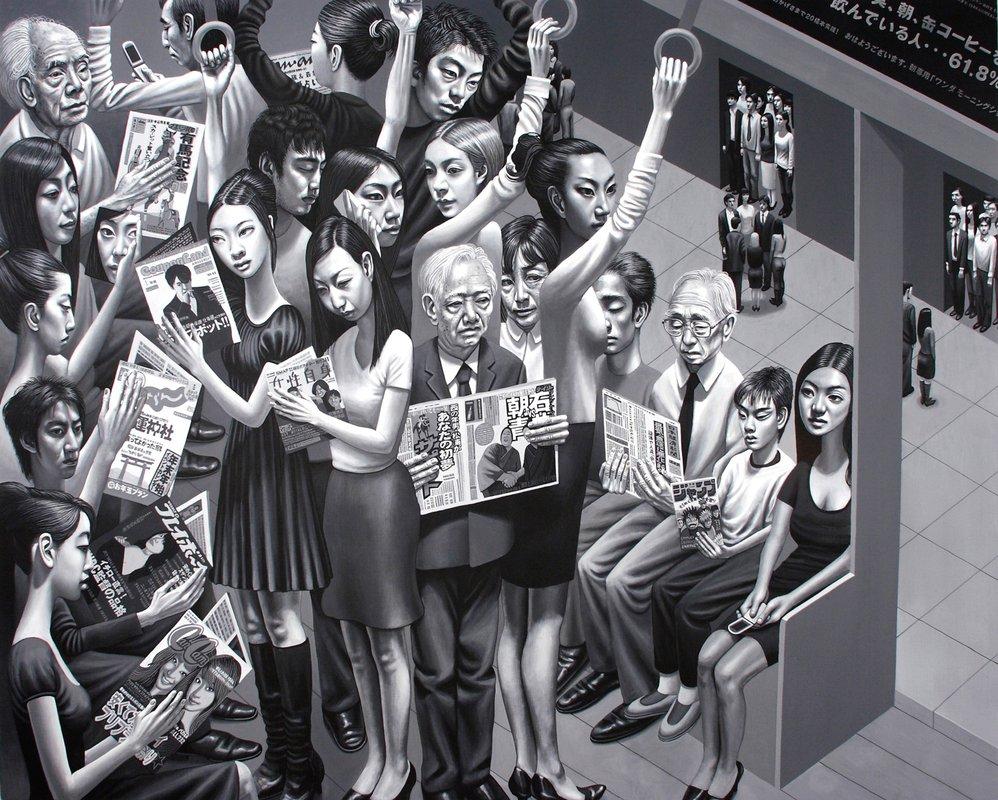 Tokyo Subway<span>Copyright Carl Randall</span>