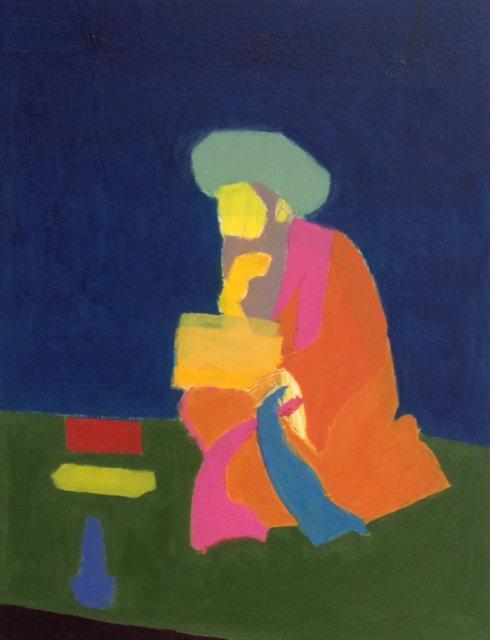 Crouching Man<span>Copyright Nadeem Akram</span>