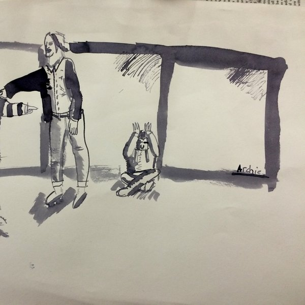 Whitechapel Club Drawing