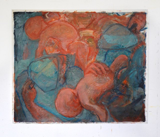 image 3- Fanning' Oil on Paper 85x 71cm.jpg