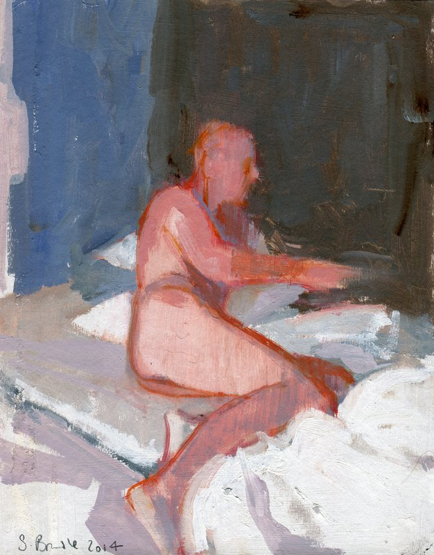 Man in an Interior<span>Copyright Sharon Brindle</span>