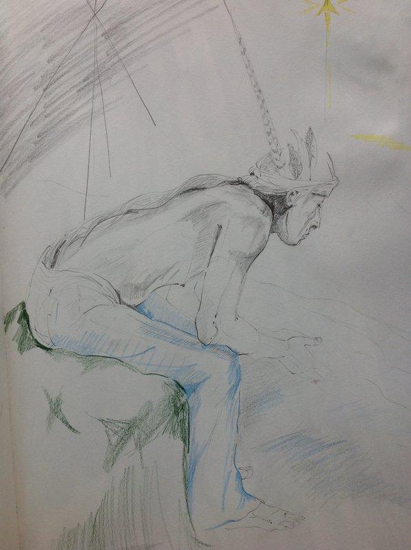 Indian Drawing<span>Copyright Susan Bacon</span>