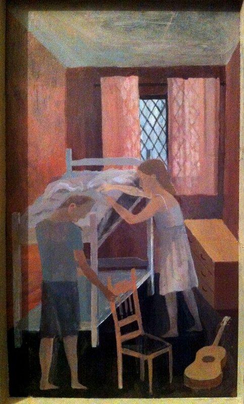 Making the Bed<span>Copyright Richard Burton</span>