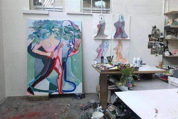 Sarah Pickstone studio