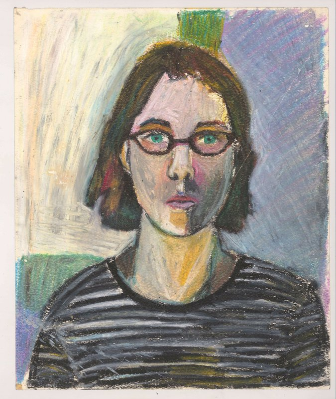 Self-portrait<span>Copyright Sarah Lightman</span>