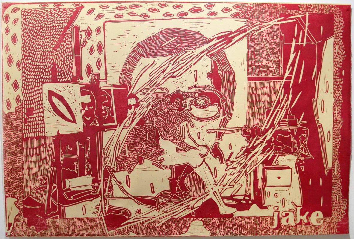 Jake's Big Painting<span>Copyright Jake Garfield</span>