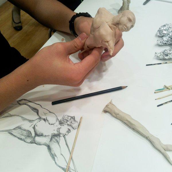 Tristan Juan, 14, National Gallery Drawing Club