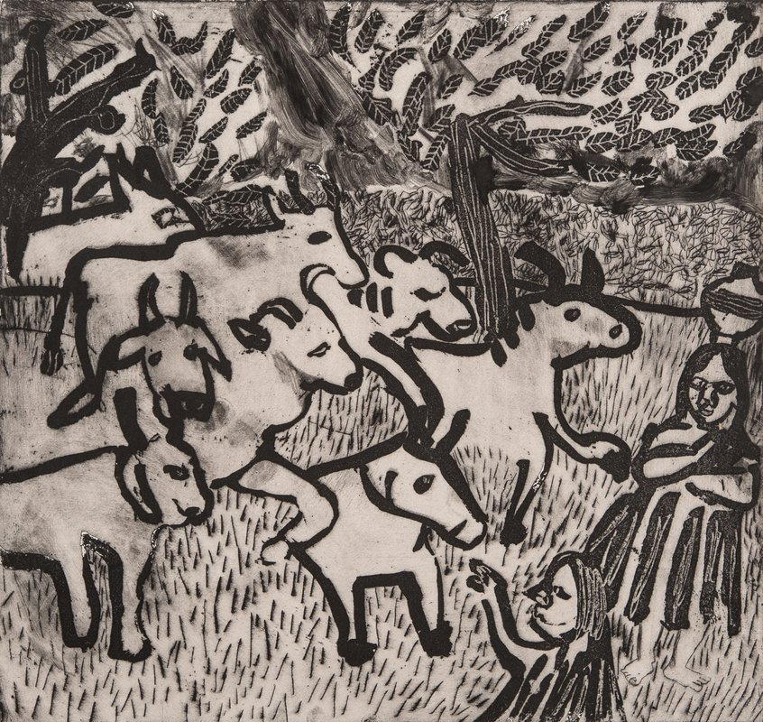 Herding the Cows<span>Copyright Holly Froy</span>