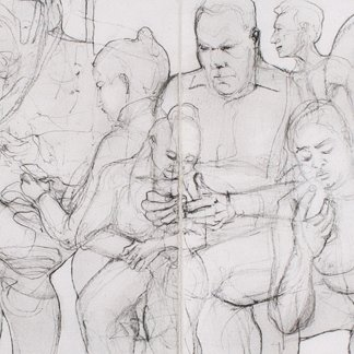 People on public transport (Body Contact 7)