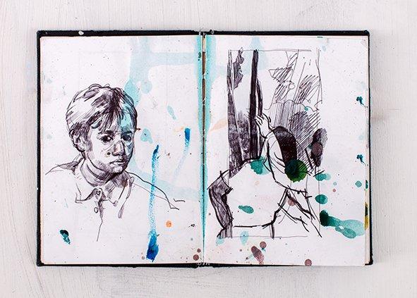 Joana Galego Sketchbook 3
