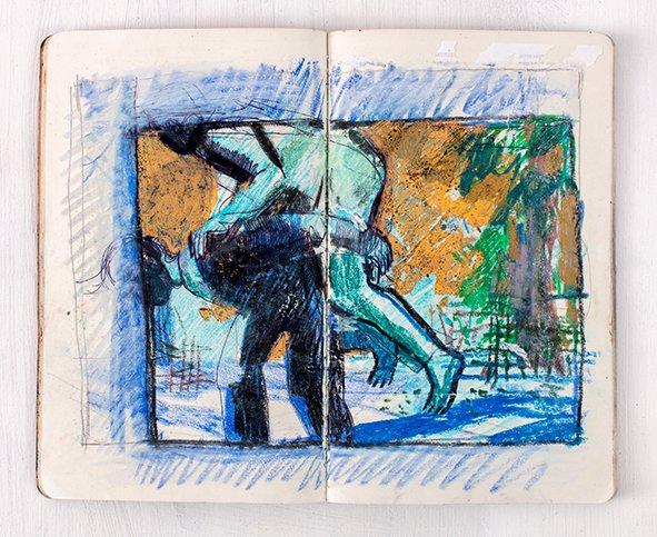 Joana Galego Sketchbook 4