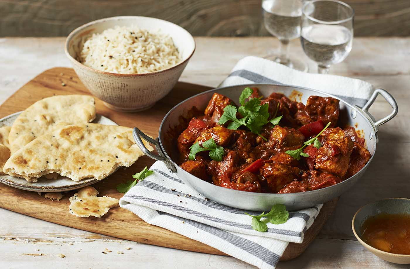 chicken and tomato spiced curry recipe