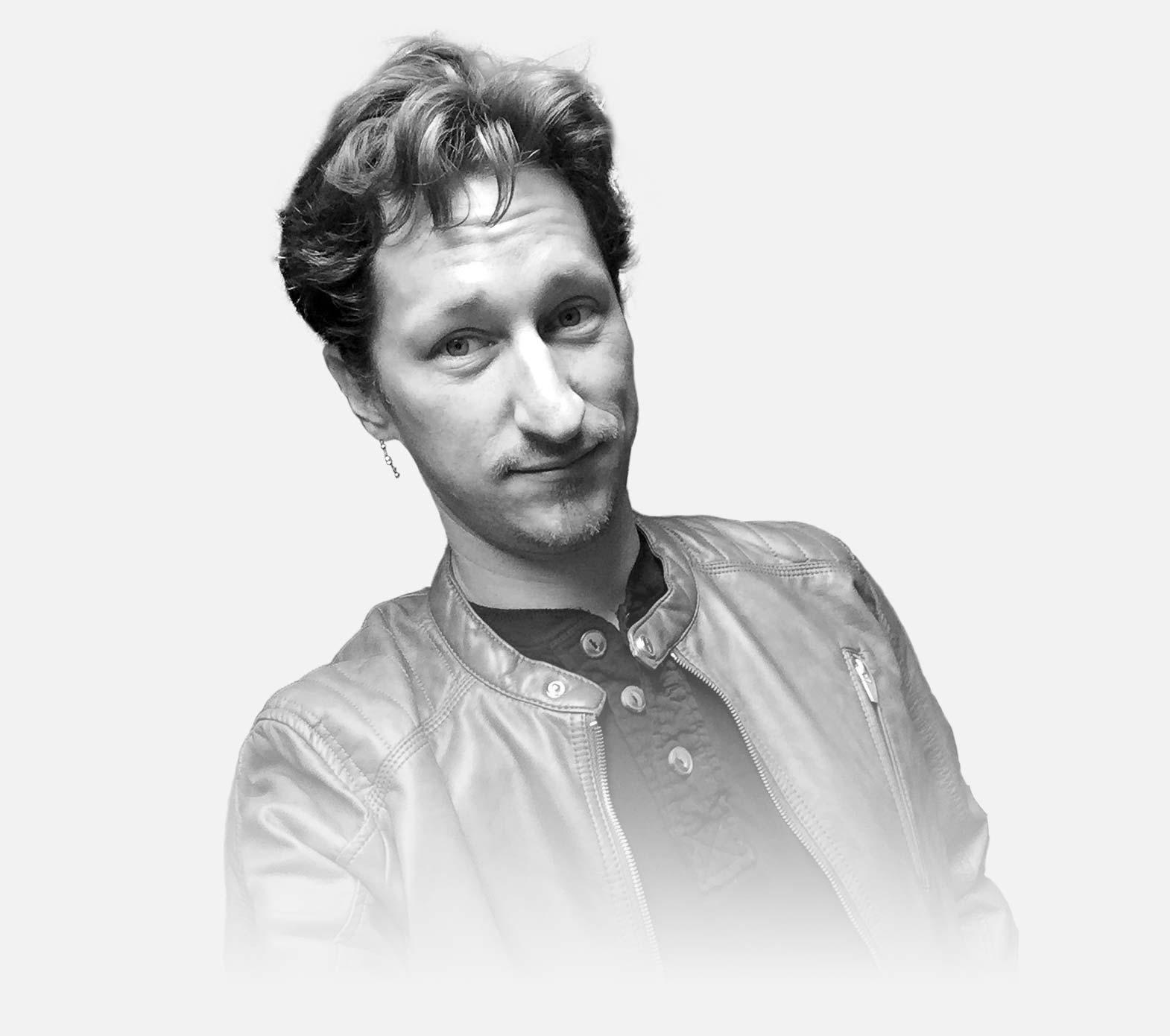 Portrait of Jonathan Cunningham