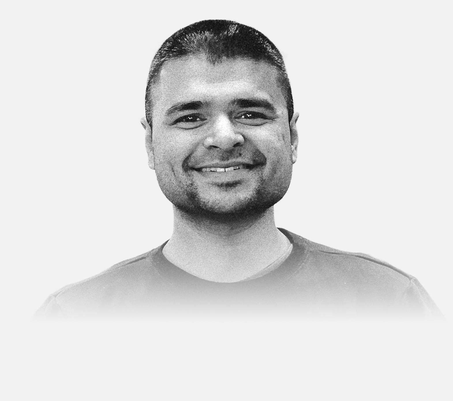Portrait of Vinod Pillai