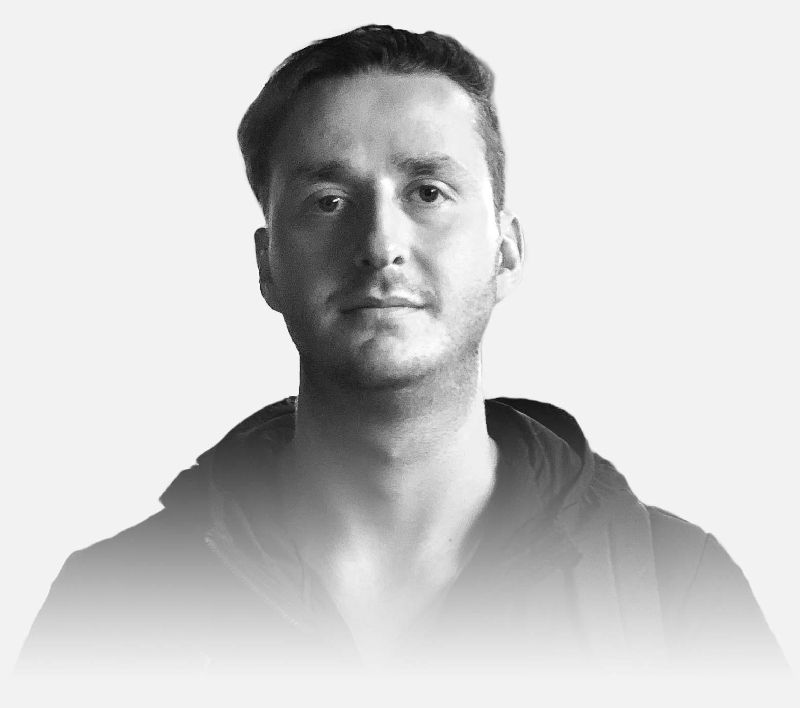 Portrait of Alistair Kenyon-Brodie