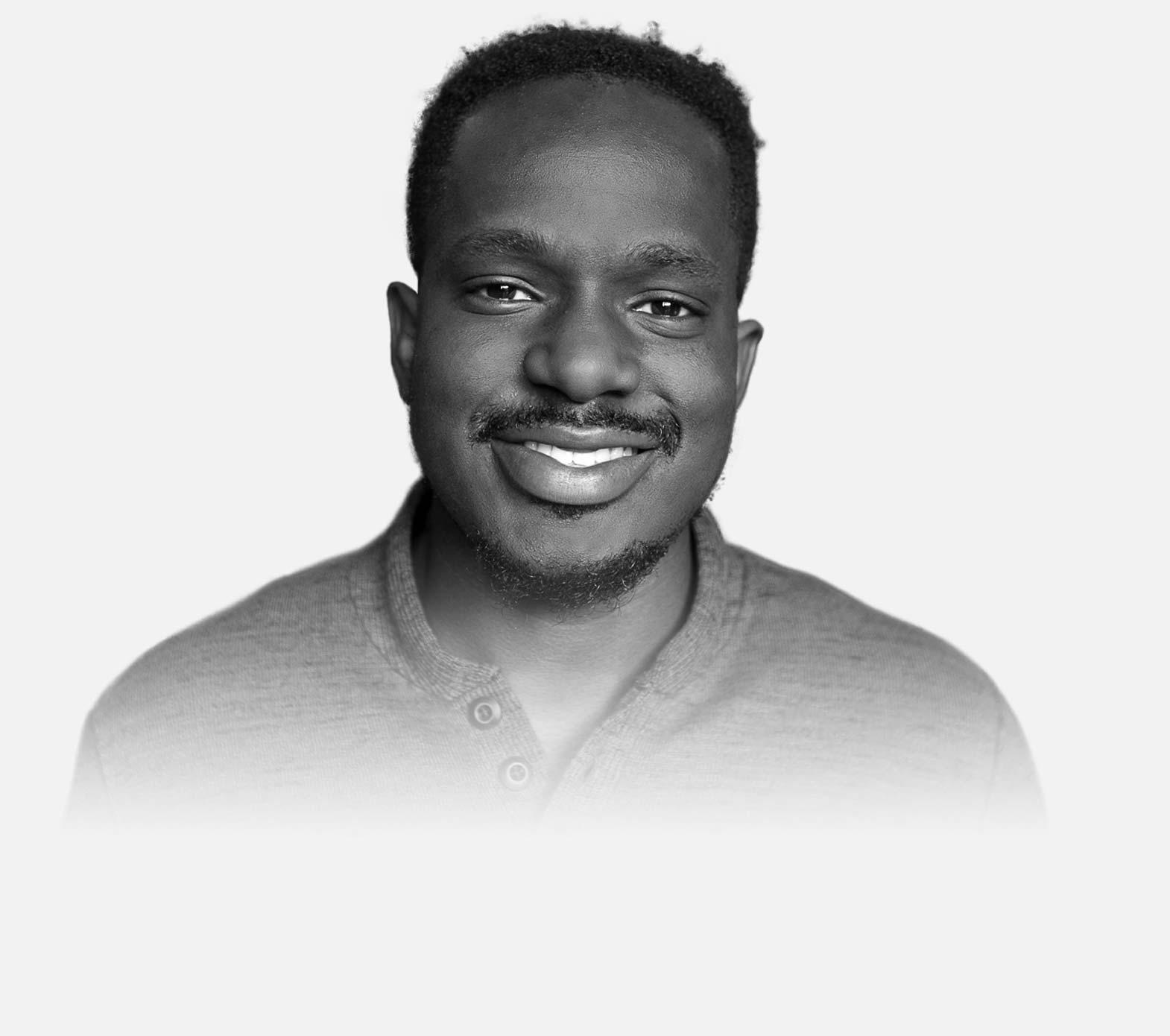 Portrait of Adekunle Oduye