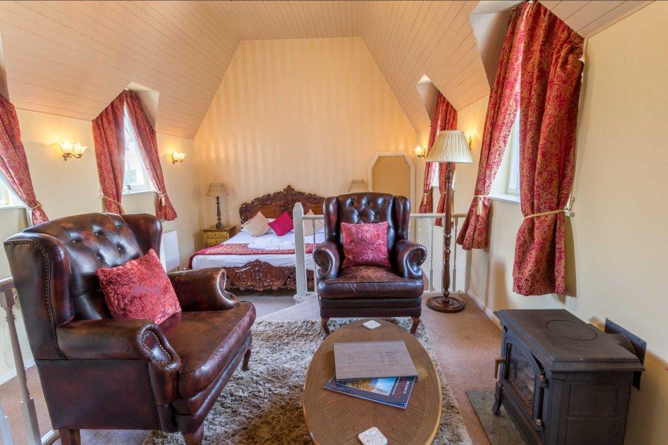 Luxury break in the Woodford Chapel Suite