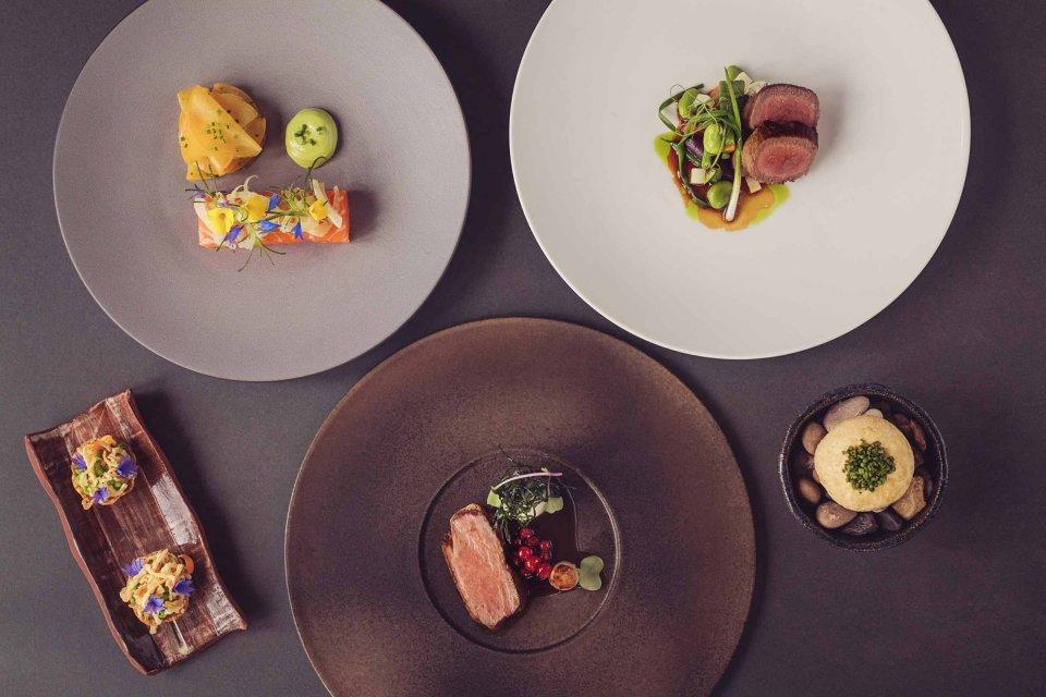 Six course Michelin Star Tasting Menu