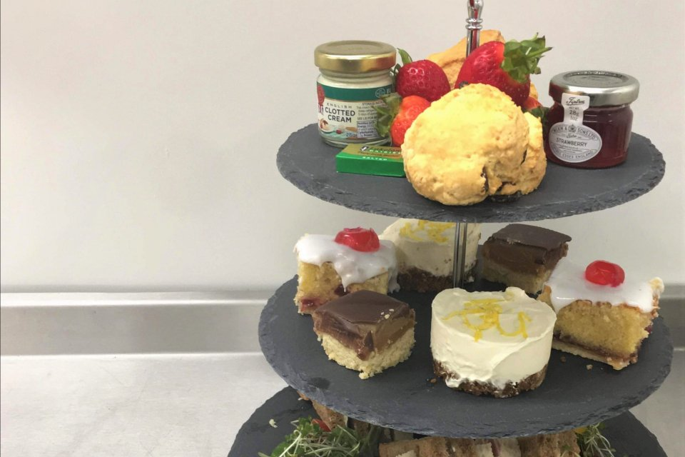 Afternoon Tea for Two in The Pear Tree Cafe