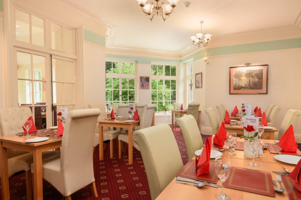 Woodlands Hotel Restaurant Vouchers