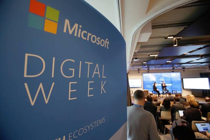 Microsoft Digital Week Live streaming