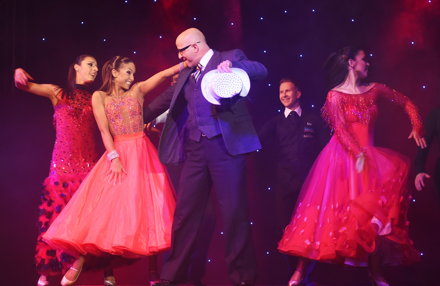 Richard Miller talks Backlash Ballroom, teaching people to dance and Strictly outfits