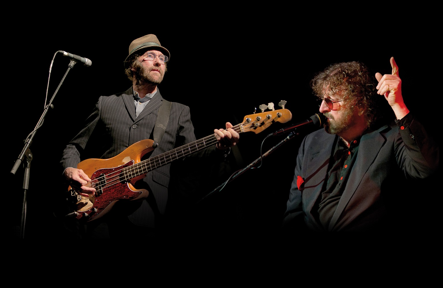Profile on Chas & Dave: Find out Chas's favourite song, their idea of a good old knees up and recording adverts