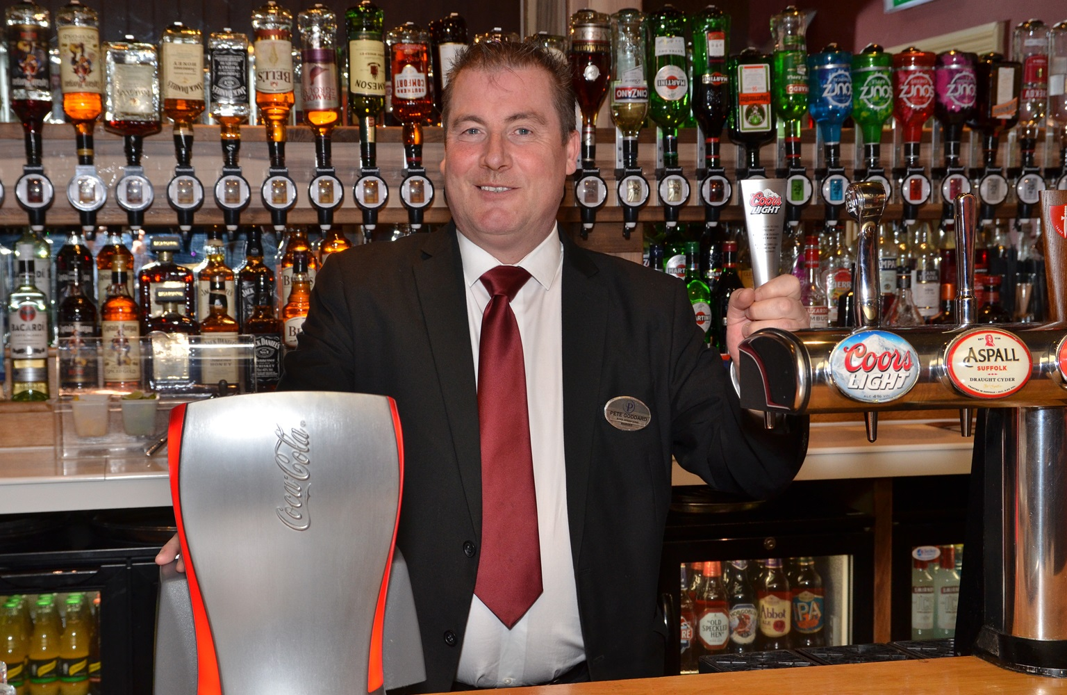 Bars Team Recognition Day - Meet Pete Goddard