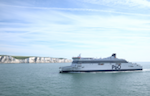 Photo of car Ferry arriving at Dover