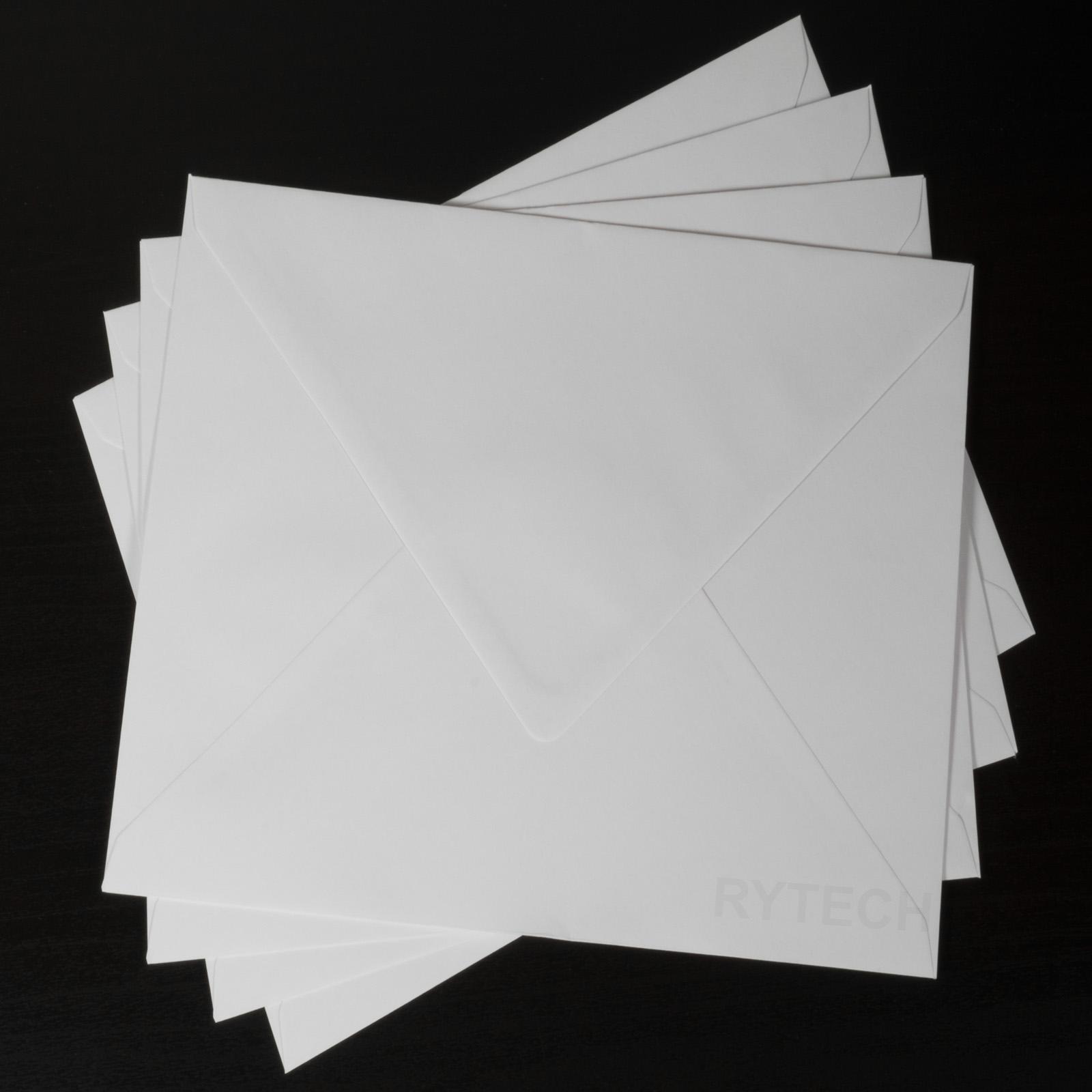 Square 155mm x 155mm Deep Blue Envelopes Greeting Card Invitations Crafts