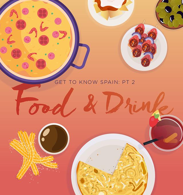 food drink spanish spain sequre