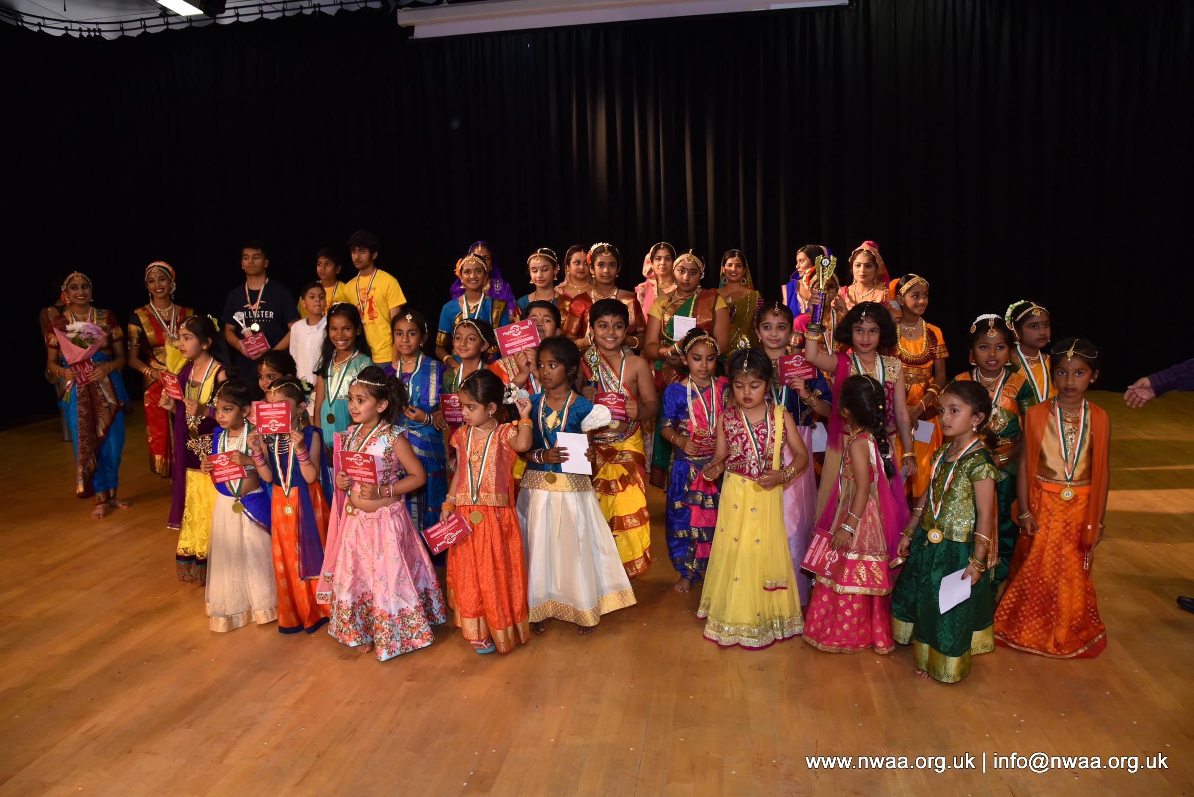 North West Asian Arts -  Rhythm of India 2018 - Presentation