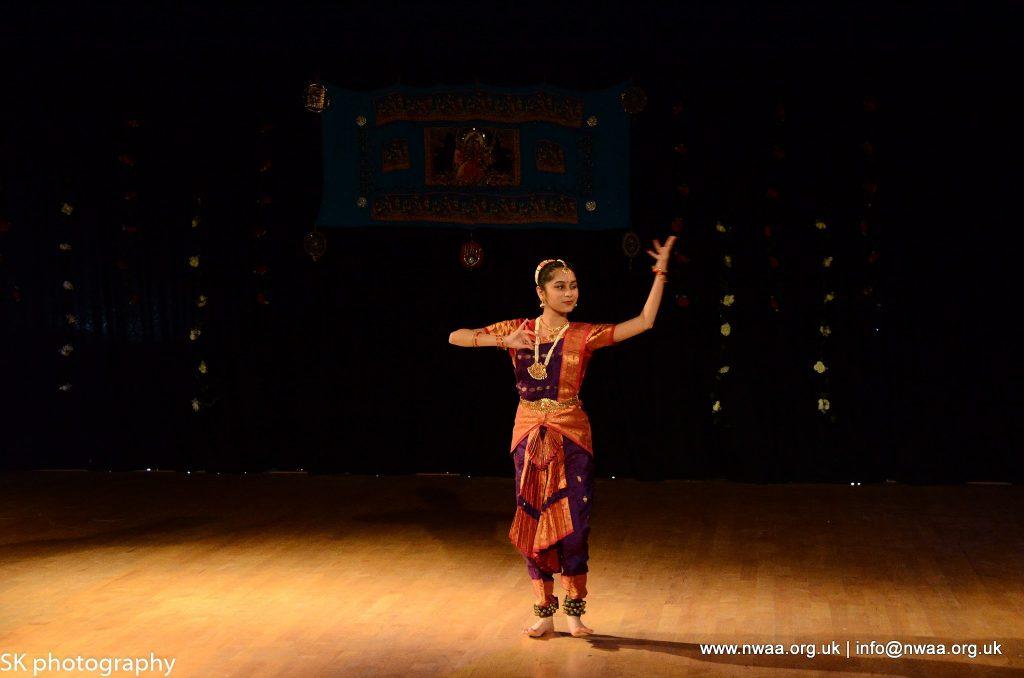North West Asian Arts - Rhythm of India 2016 - Meera Sonara- Bharatanatyam in Bolton, Manchester