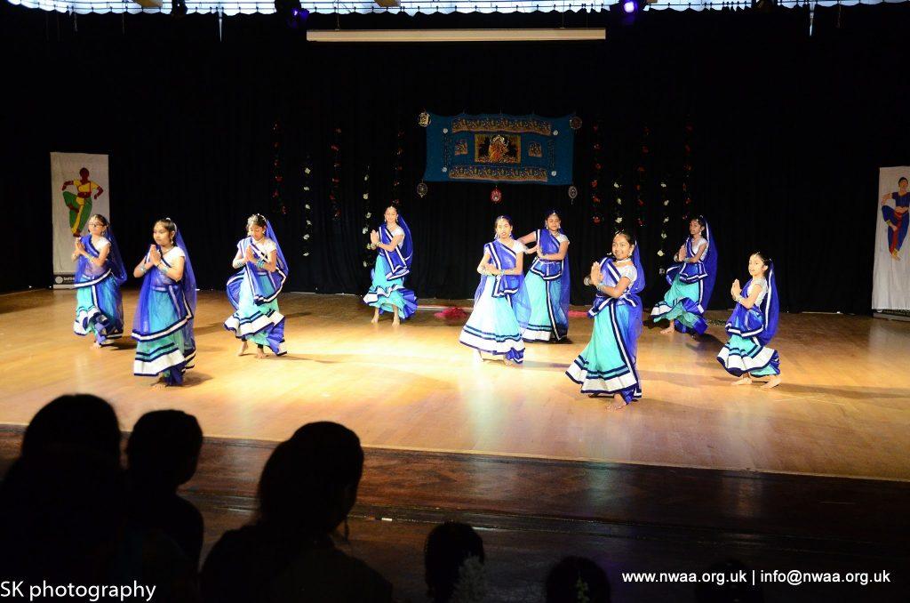 North West Asian Arts - Rhythm of India 2016 - Mandhata Group - Folk Dancing