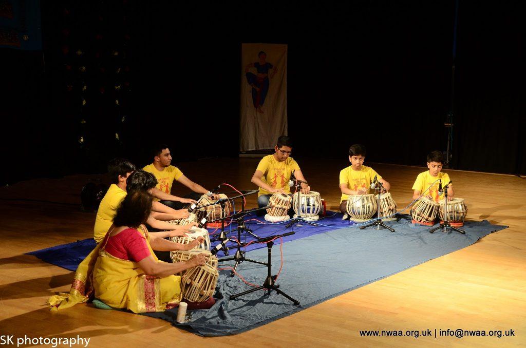 North West Asian Arts - Rhythm of India 2016 - Tabla