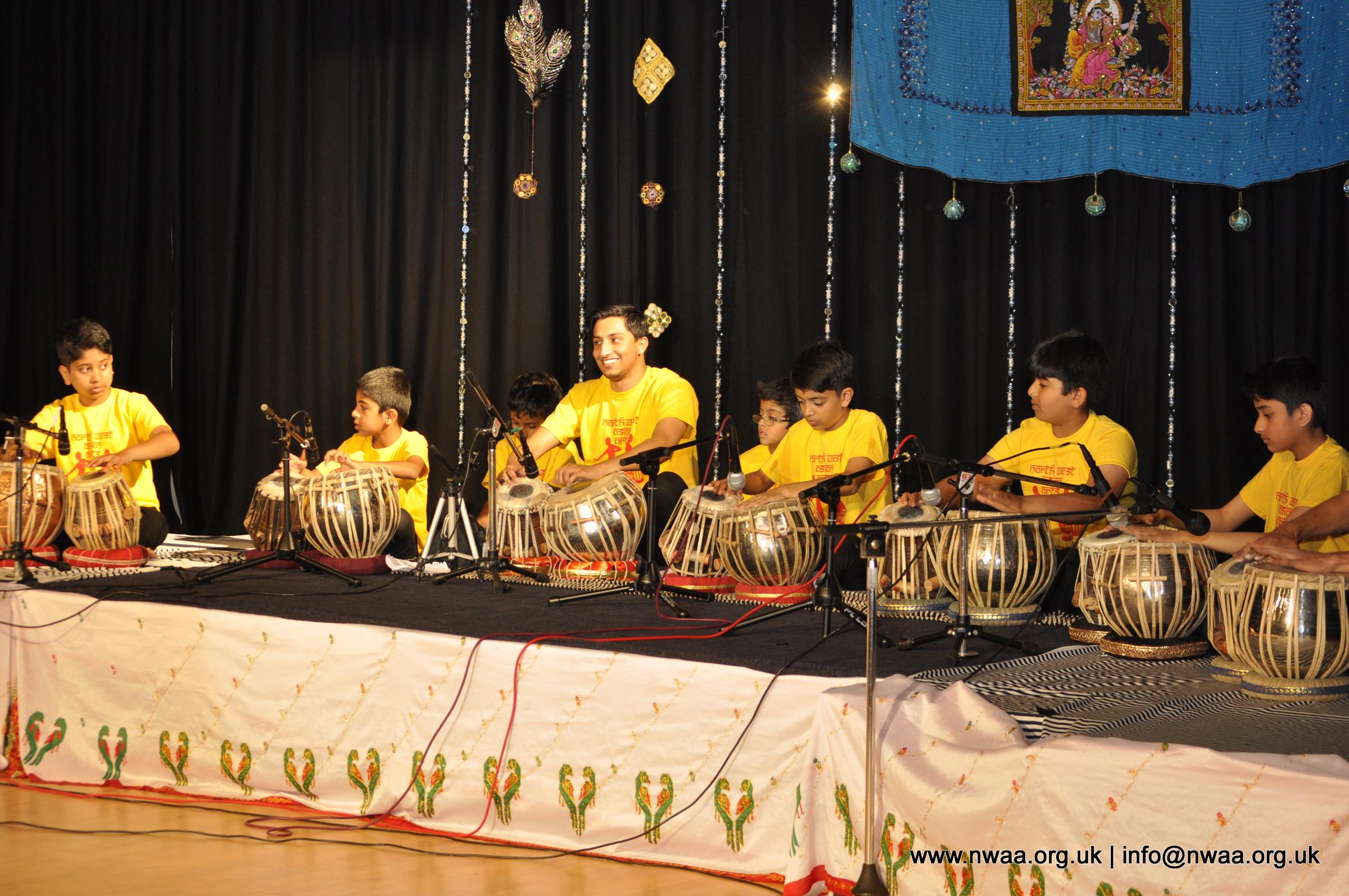 North West Asian Arts, Bolton, Tabla, Naye Sitaare