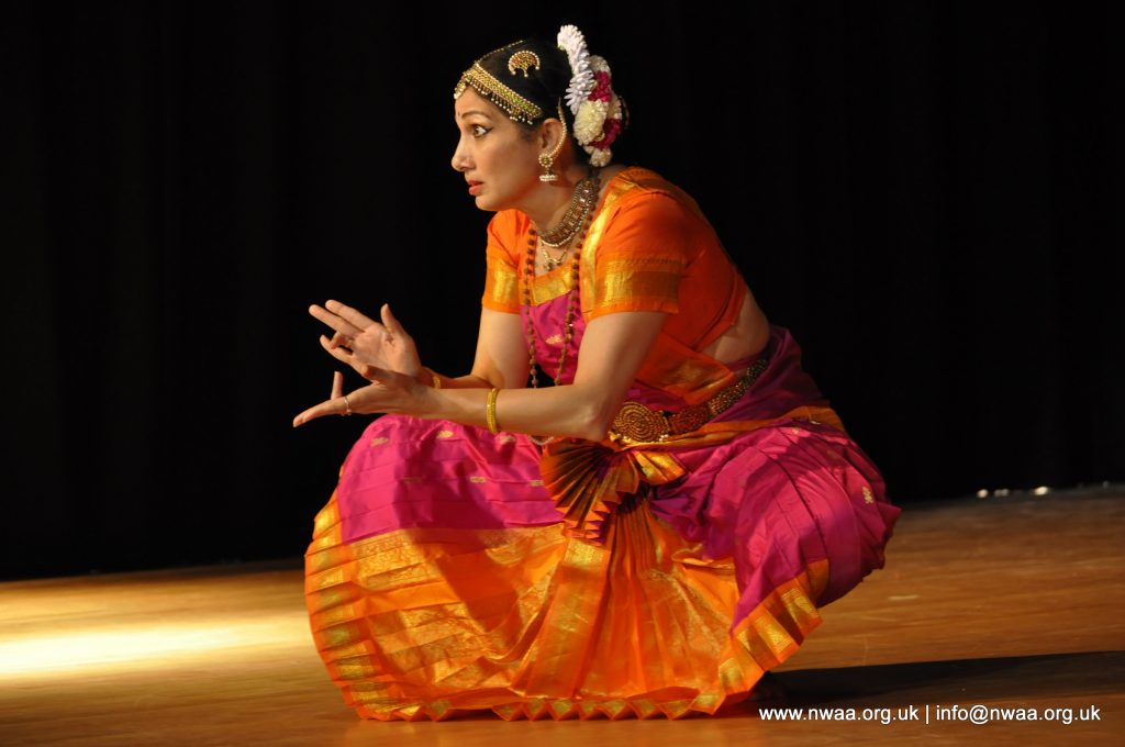 Bharatanatyam by Dr Swati Raut - North West Asian Arts - 2015