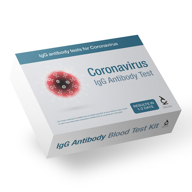 Coronavirus IgG Antibody Home Test Kit - Past Exposure