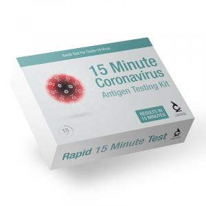 Coronavirus Rapid 15 Minute Antigen Test - Current Infectiousness