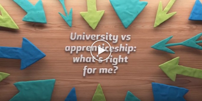 university vs apprenticeship