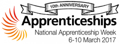National Apprenticeship Week 2017 logo